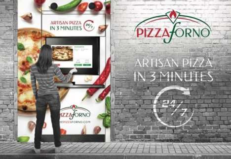 Efficient Pizza Vending Machines