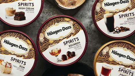 Boozy Ice Cream Desserts
