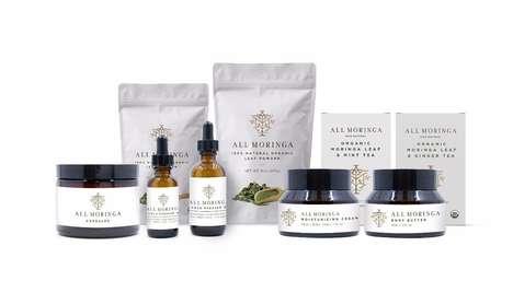 Rejuvenating Moringa Cosmetics