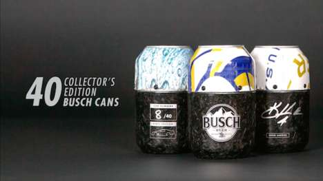 Race Car Beer Cans