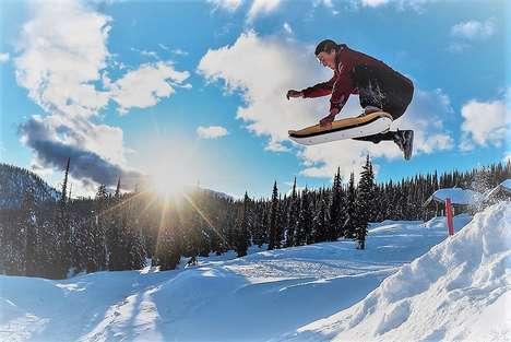 Winter Weather Skateboards