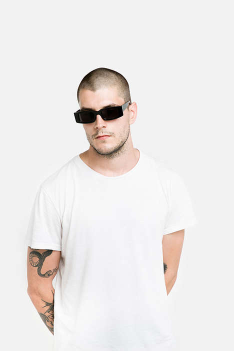 Genderless Bulky Sunglasses