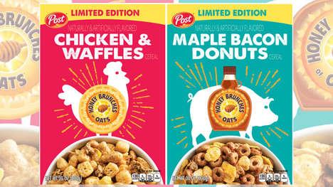 Brunch Dish Breakfast Cereals