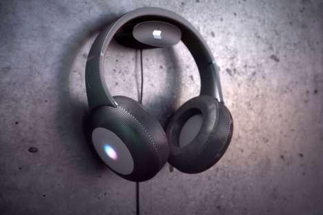 Branded Voice Assistant Headphones