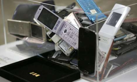 Electronic Waste Olympic Medals