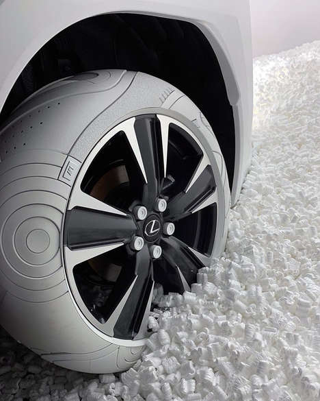 Sneaker-Inspired Car Tires