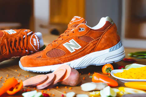 Food-Inspired Sneaker Colorways