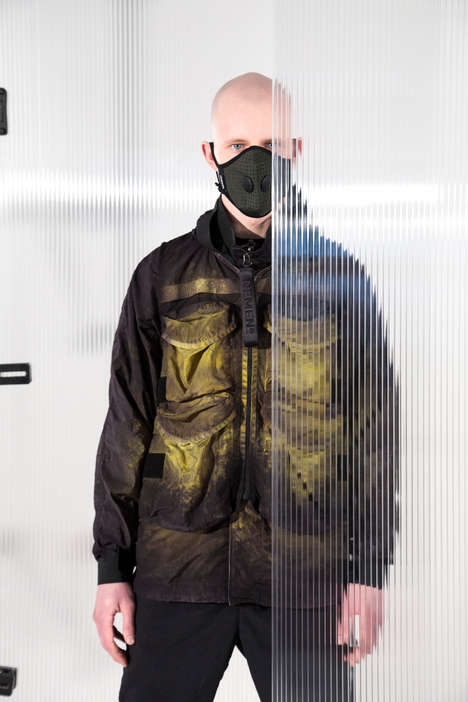 Unique Acid-Dyed Clothing Collections