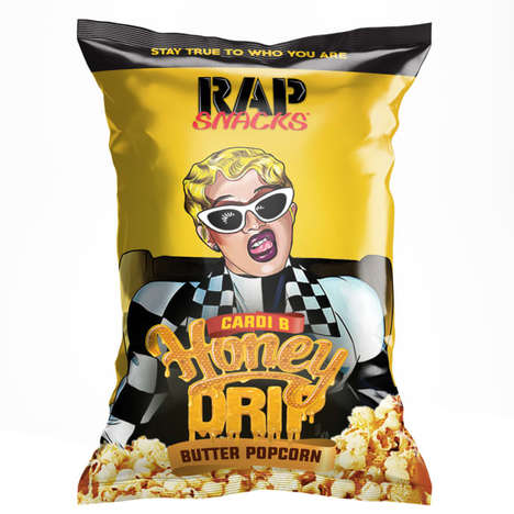 Rapper-Inspired Chip Flavors