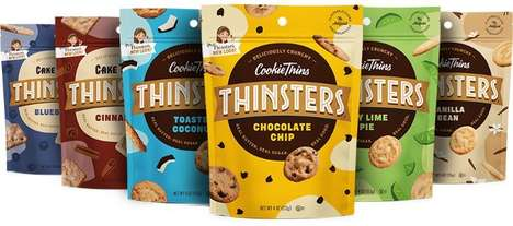 Crispy Cookie Snack Rebrandings