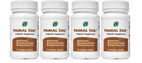Soil-Sourced Probiotic Supplements - The Organic 3 Primal Soil Probiotic Supplement is Natural