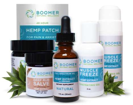 Boomer-Friendly Hemp Oil Products