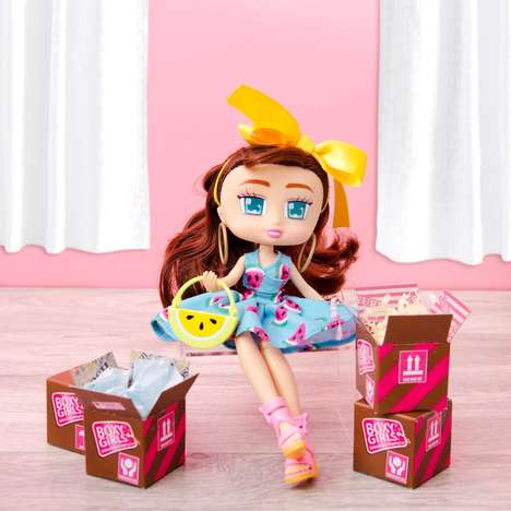 Collectible Unboxing Dolls