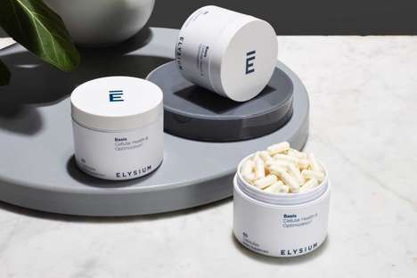 Longevity-Focused NAD+ Supplements - Basis by Elysium is a Vegan Product That Promotes Healthy Aging