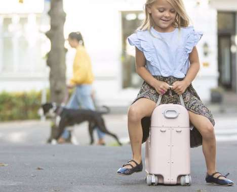 Rideable Youngster Suitcases