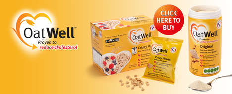 Cholesterol-Lowering Oat Products