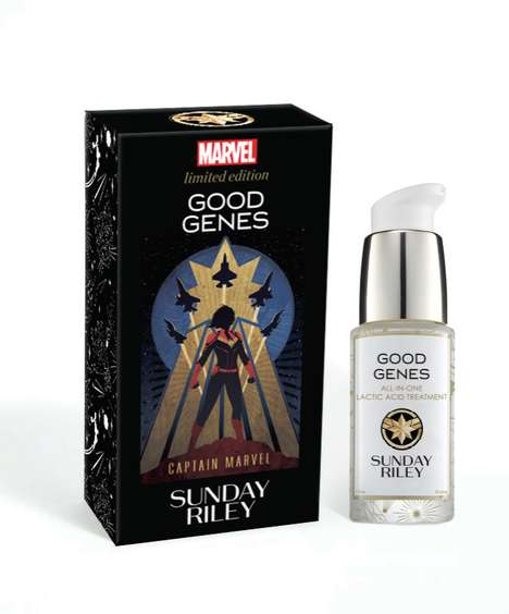 Collectible Superheroine Skincare
