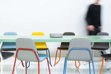 Minimal Vibrant Chair Designs