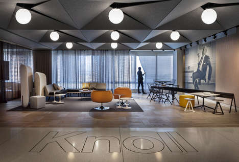 Open-Layout Workplace Designs