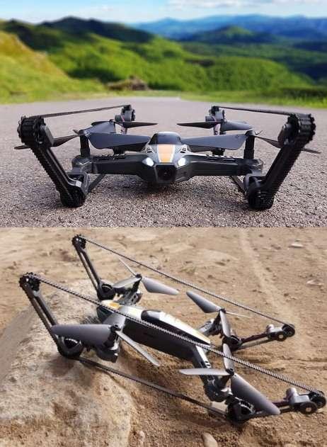 Rugged Dual-Terrain Drones