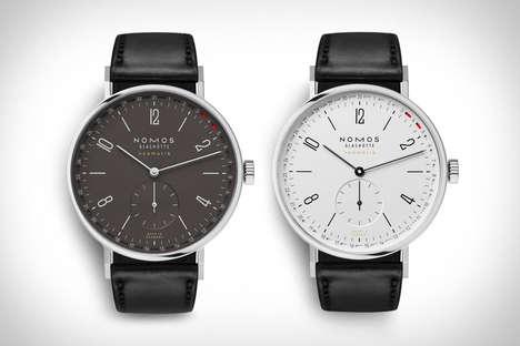 Discreet Date Indicator Timepieces