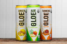 Plant-Infused Sparkling Drinks