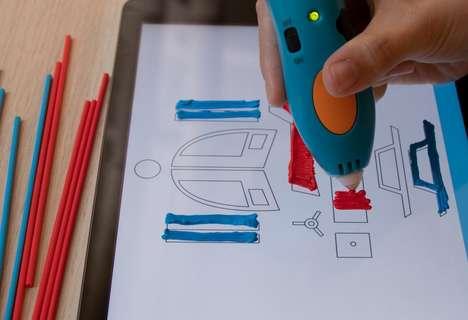 3D Printer Stencil Apps