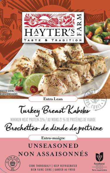 Tender Turkey Kebobs