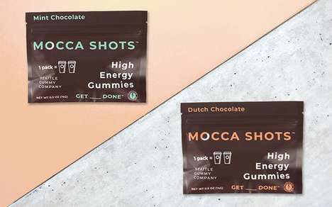 Dessert-Flavored Caffeine Gummies - The New Mocca Shots Flavors were Extensively Taste Tested