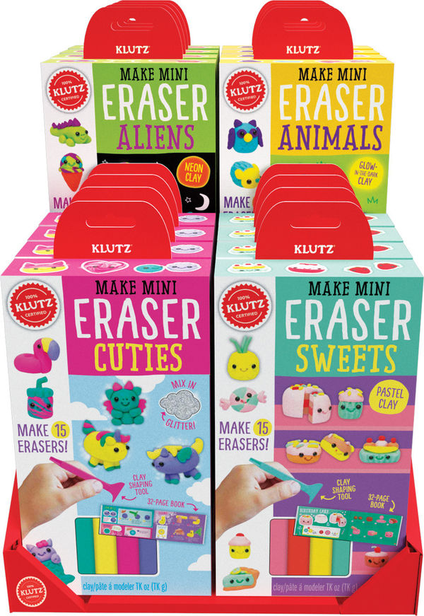 Klutz Make Mini Eraser Cuties
