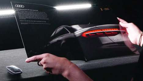 Responsive Print Car Ads