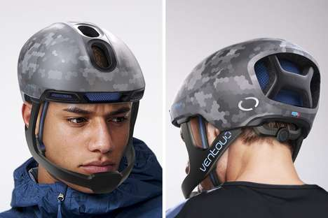 Hybrid Cyclist Protection Helmets