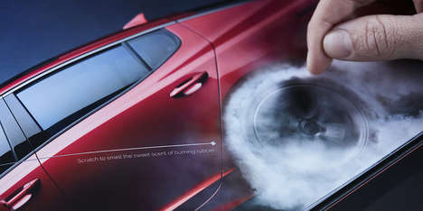 Scratch-and-Sniff Automotive Campaigns