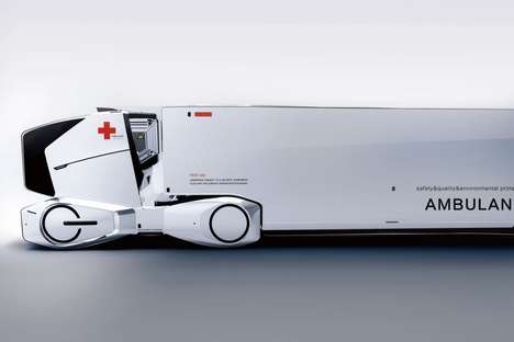 Emergency Room-Equipped Ambulances