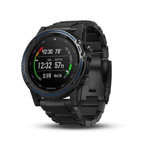 Aquatic Dive-Logging Smartwatches