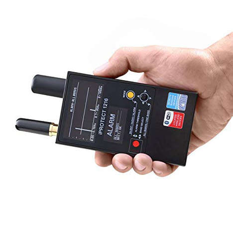 Surveillance-Detecting Devices - The iProtect 1216 Bug Detector Prevents Privacy Breaches