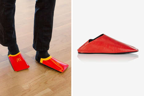 Social Media Brand Engagements - McDonald's is Taking a Stab at Balenciaga's Slip-On Shoes