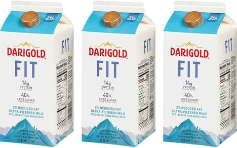 High-Protein Filtered Milks