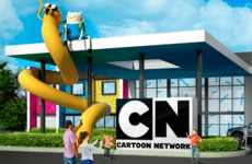 Cartoon-Themed Resort Hotels