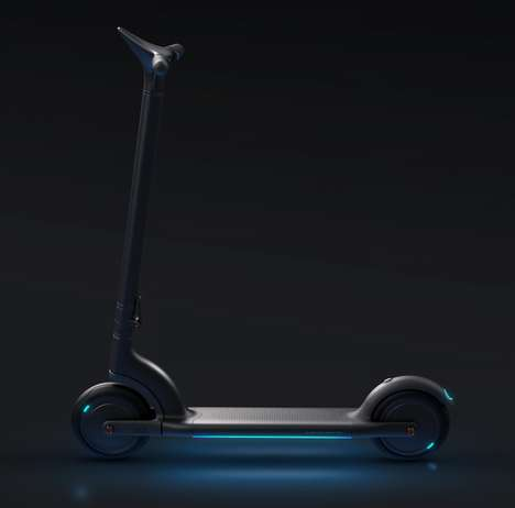 Electrified Adult-Friendly Scooters