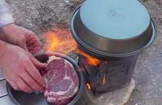 Durable Camper Cooking Equipment