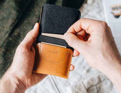 All-in-One Smartphone Wallets - The band&roll Kangaroo Case Protects and Carries Essentials