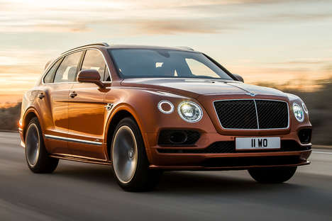 Ultra-Fast Luxury SUVs - The 2020 Bentley Bentayga Speed will Debut at the Geneva Motor Show
