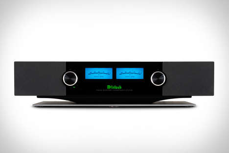 High-End Future-Ready Speakers - The McIntosh RS200 Wireless Loudspeaker System is Streaming-Enabled
