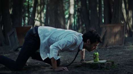 Getaway Beer Campaigns - Labatt Blue Citra's Campaign Shows 'Feral Millennials' Exploring Nature