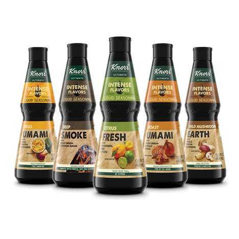 Bold Liquid Seasonings - The Knorr Intense Flavors Line Delivers Umami, Citrus Fresh Flavors & More