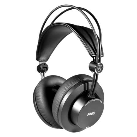 Sleekly Designed Closed-Back Headphones
