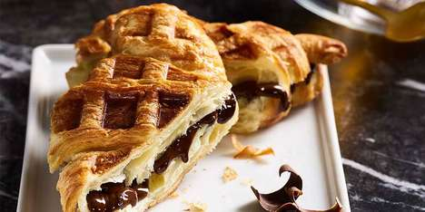 Stuffed Croissant Waffles