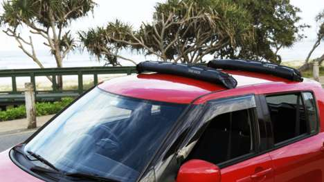 Inflatable Vehicle Roof Racks
