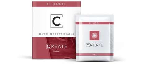 Full-Spectrum CBD Powder Supplements - The Elixinol CBD Powder Comes in Convenient Pouches